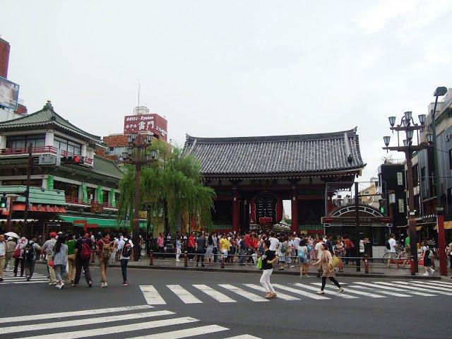 Tempio Senso-ji ad Asakusa