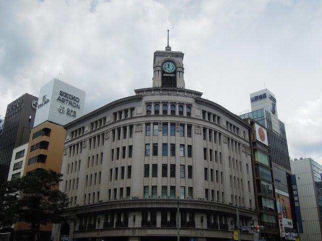 Il Wako Building a Ginza