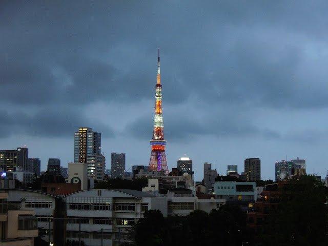 La Tokyo Tower costruita su imitazione della Tour Eiffel