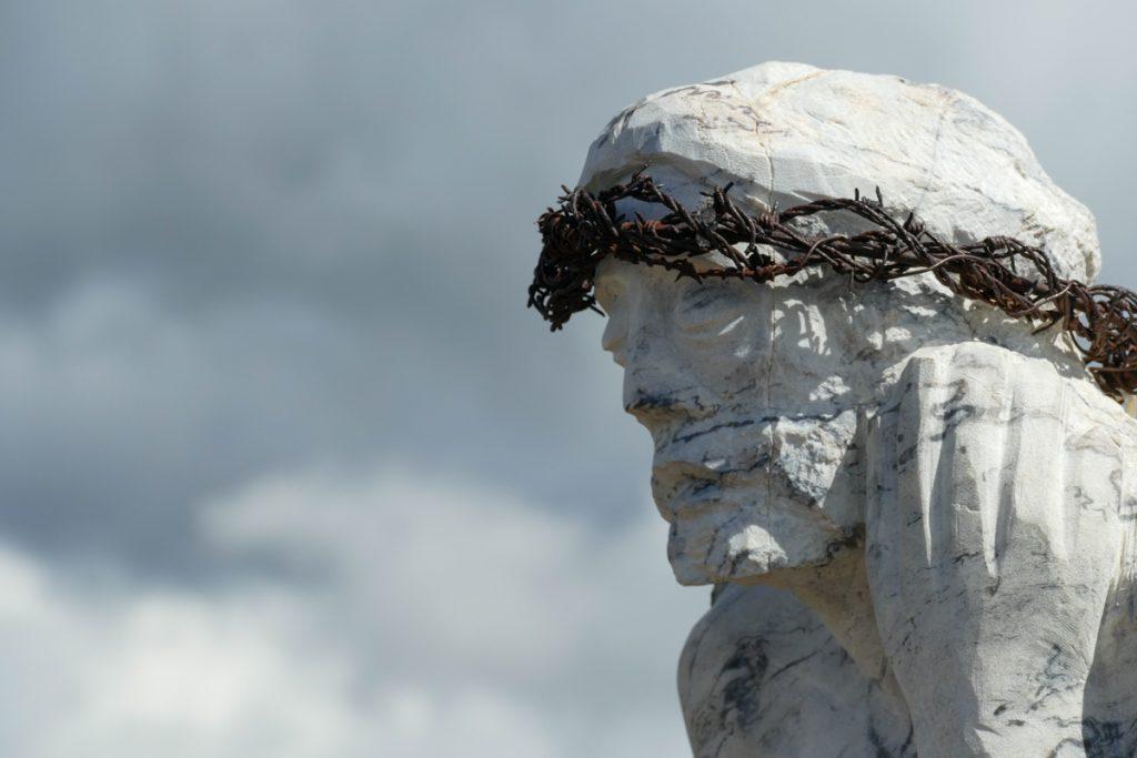 La corona di spine del Cristo Pensante