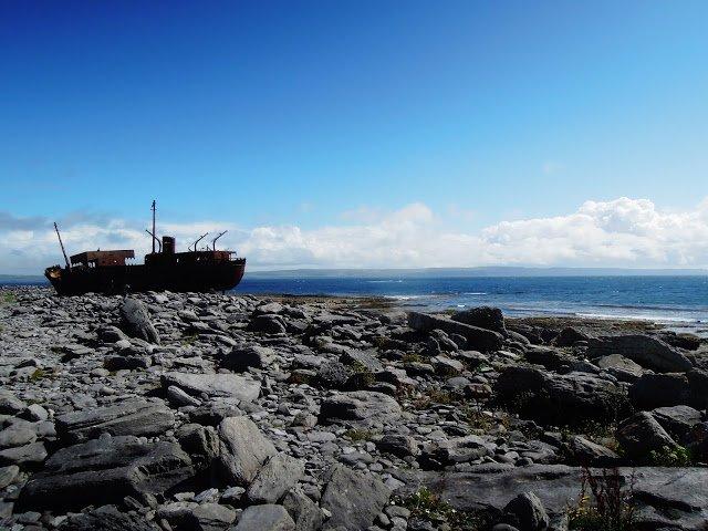 Il relitto della nave Plassy a Inisheer