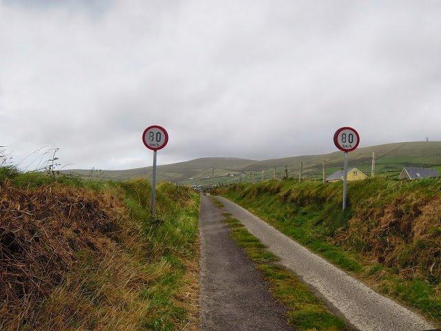 Guidare sulle strade irlandesi