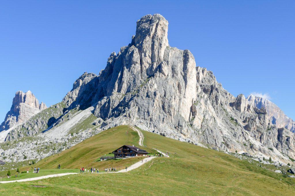 Passo Giau con il Monte Averau