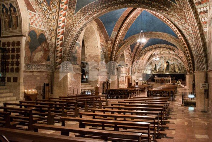 Interno della Chiesa Inferiore