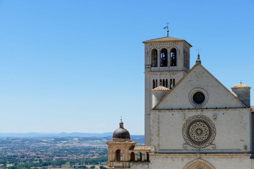Facciata della Chiesa Superiore della Basilica di San Francesco