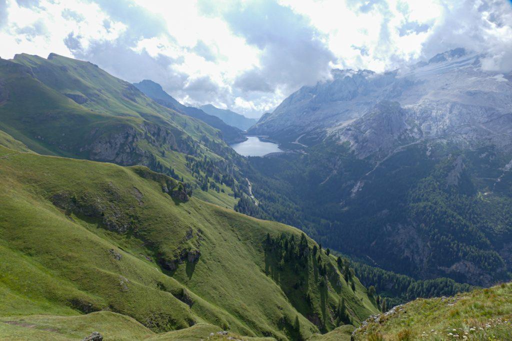 Panorama dal Rifugio Viel del Pan