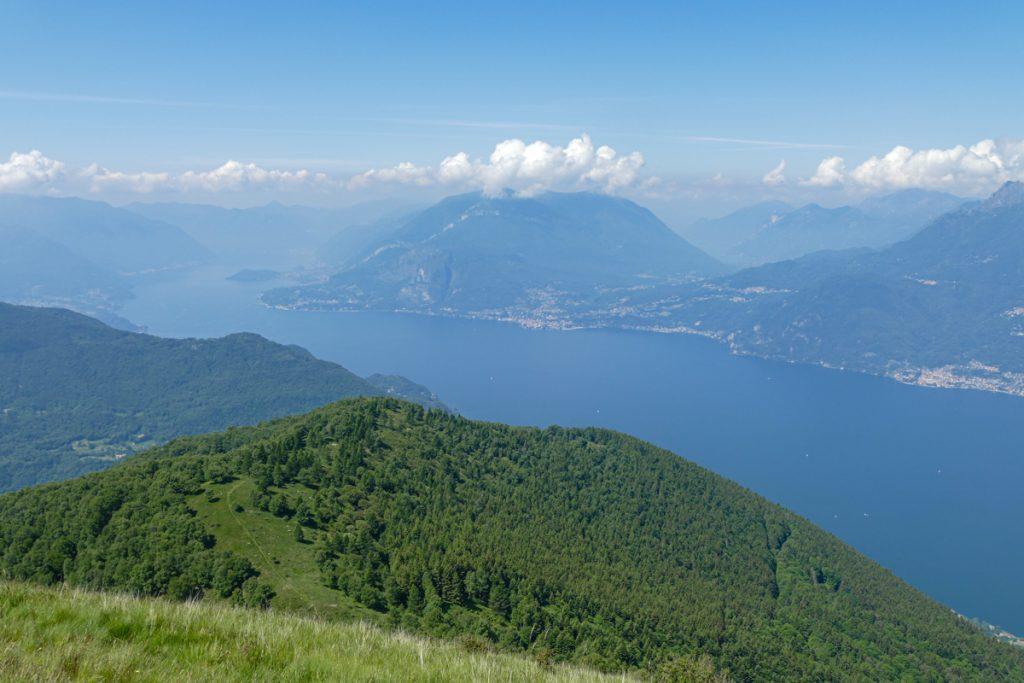 Il Lago di Como dall'Alpe Giumello